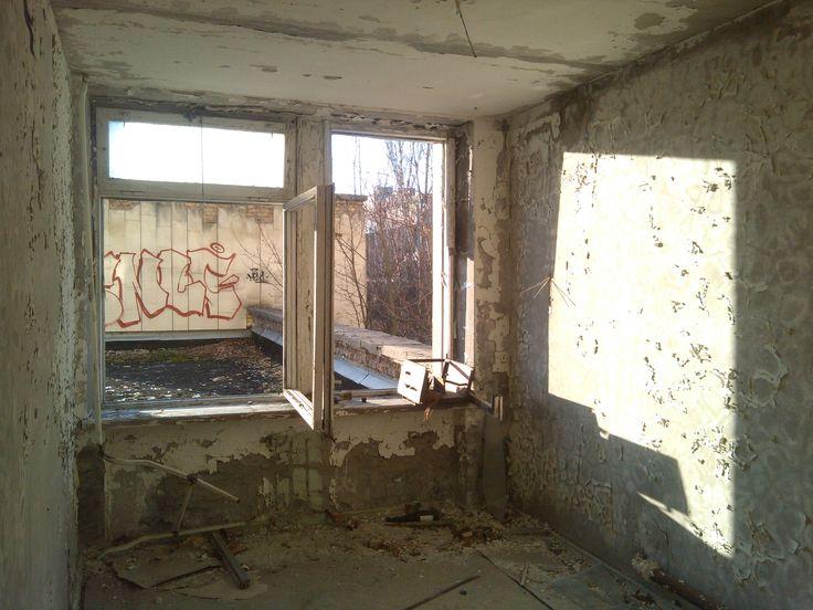 "Inside the ""Polissya"" hotel. Central Pripyat."