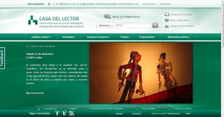 http://casalector.fundaciongsr.com