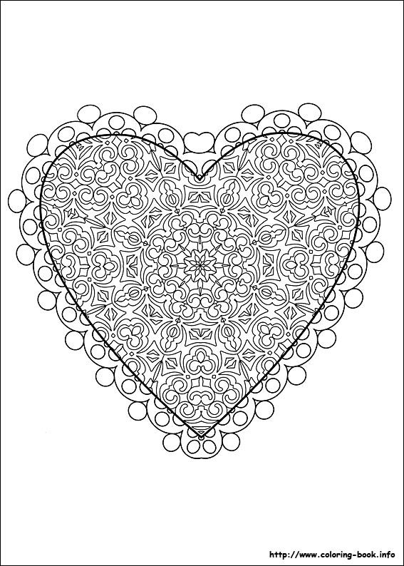 Valentine 39 s Day coloring picture