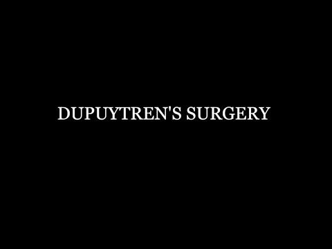 Dupuytren's Contracture Surgery | Orthogate