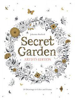 Secret Garden Artists Edition Coloring Book By Johanna Basford Review Color Escape
