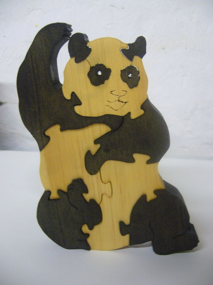Scroll Saw Wooden Puzzles - WoodWorking Projects & Plans