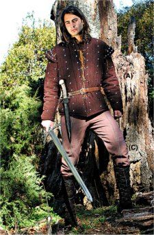 Robin of Locksley's Gambeson: Renaissance Costumes, Medieval Clothing, Madrigal Costumes by The Tudor Shoppe