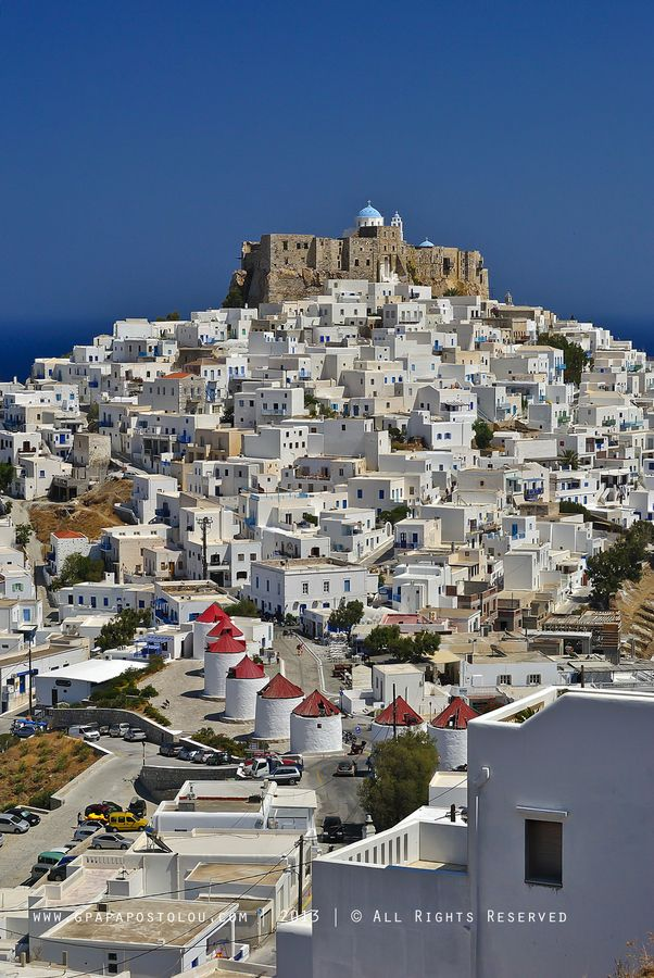 The Hora of Astypalea island, Dodecanese #Greece