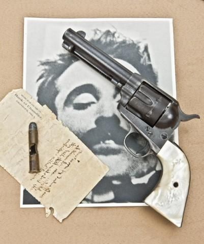 US Marshal W. F. Sparr's Colt Quickdraw Model Single Action Army Revolver