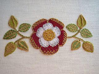 Threads Across the Web: Tudor Rose