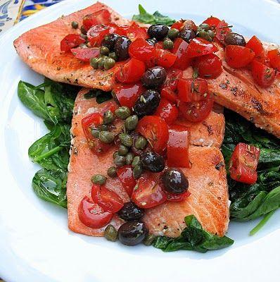 Provençal Alaska Salmon Sauté and Hooray for Cook It Frozen® | Big Red Kitchen - a regular gathering of distinguished guests