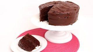 Devil's Food Cake Recipe - Laura in the Kitchen