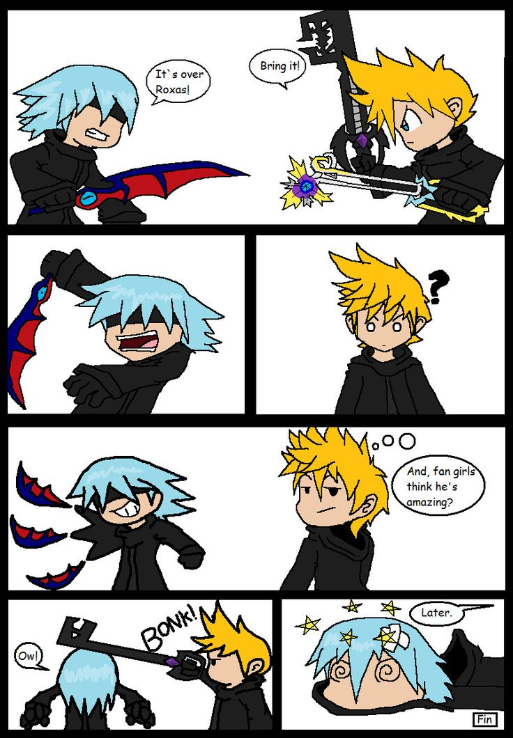 How Riku REALLY lost to Roxas by The-Patman.deviantart.com on @deviantART