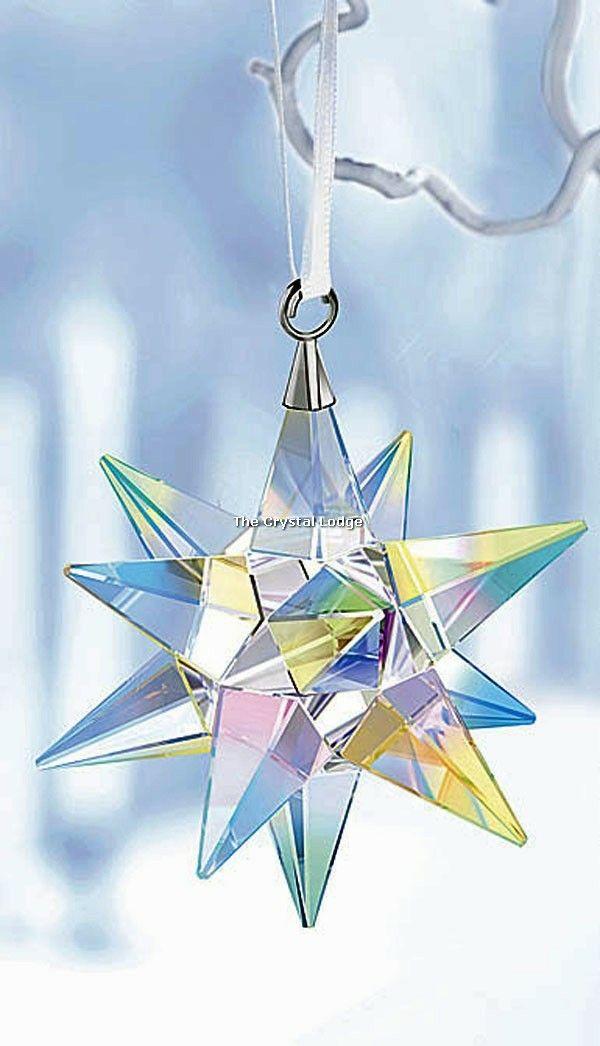 e6d3754dd44 Swarovski Crystal Star Ornament, Aurora Borealis | Swarovski ...