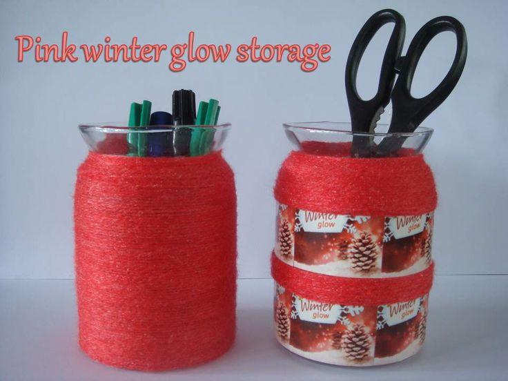 Pink winter glow storage