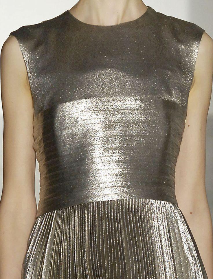 A quietly singular dress by Jill Sander.