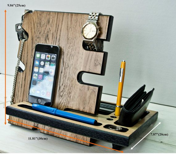 Docking StationMens Office Decor.Charging Station от DibrovaStore