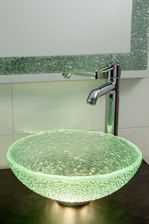 Made Of Recycled Glass