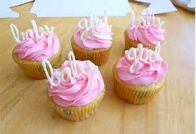 Baby Shower Cupcakes For Girls - Bing Images