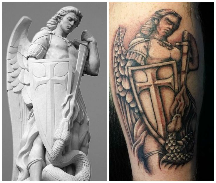 Saint Michael Archangel Tattoo