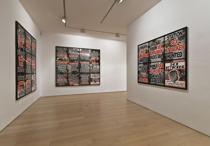 "Bernier/EliadesGallery | Gilbert & George | ""London Pictures"", 2012 