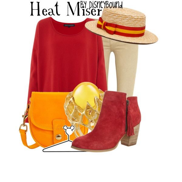 DisneyBound- Heat Miser. You seriously don't understand how much joy this fills me with.