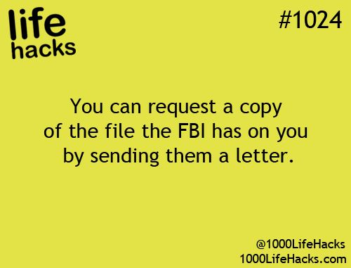 Compile your letter, the completed Form DOJ-361 and your driver's license photocopy and mail to FBI headquarters. The main FBI address for records requests is: Federal Bureau of Investigation, Attn: FOI/PA Request, Record/Information Dissemination Section, 170 Marcel Drive, Winchester, VA 22602-4843