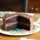 Lyxig glutenfri & mjölkfri chokladtårta
