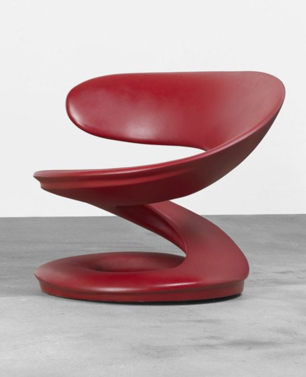 So beautiful....in any space where the asthetic...,your asthetic, is viable and celebrated....L'Aspirale Chair by Louis Durot