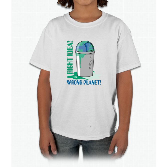 Right Idea, Wrong Planet Young T-Shirt