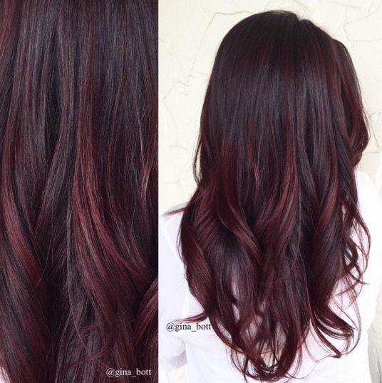 Warm Mahogany  Hair  Pinterest  Balayage Hair Colour Balayage And Hair Co