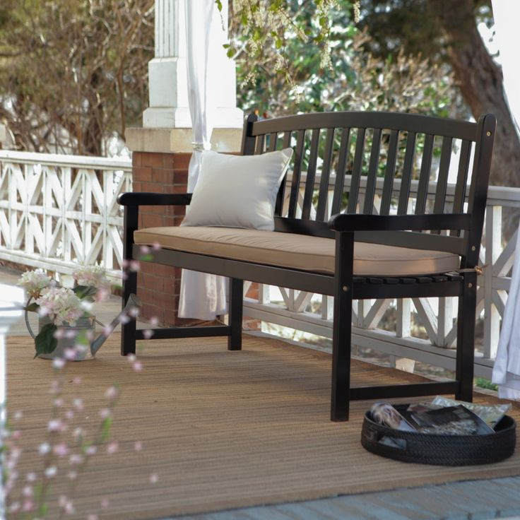 Coral Coast Pleasant Bay 5 Ft Slat Curved Back Outdoor 400 x 300