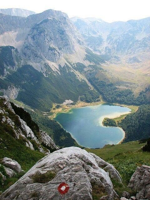 Lake Trnovačko, Maglić Mountain, Bosnia and Herzegovina/Montenegro