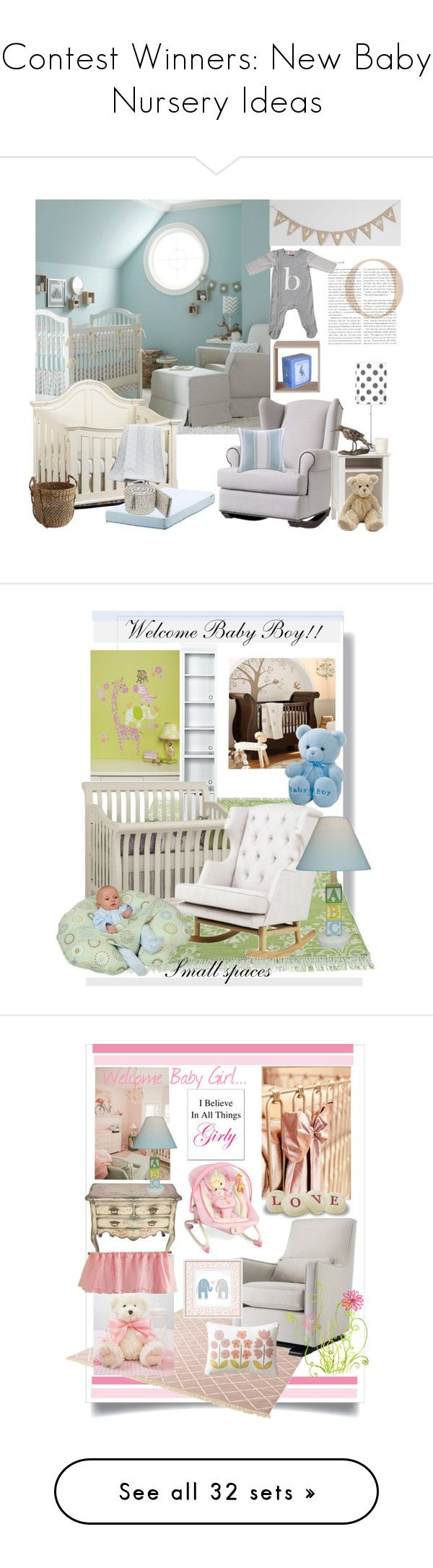 """Contest Winners: New Baby Nursery Ideas"" by bluecatreview13 ❤ liked on Polyvore featuring interior, interiors, interior design, home, home decor, interior decorating, Lazy Susan, Muuto, Bamford and Pier 1 Imports"
