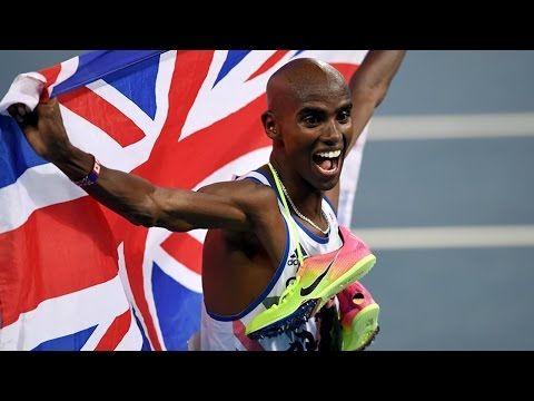 Rio 2016 Mo Farah wins 10000m gold Post Race Interview - YouTube
