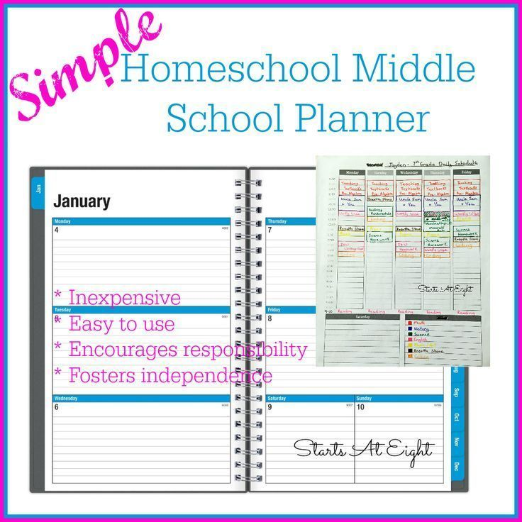 40 best teaching ideas images on pinterest catholic kids simple homeschool middle school planner is an inexpensive and simple system of beginning to work towards fandeluxe Gallery