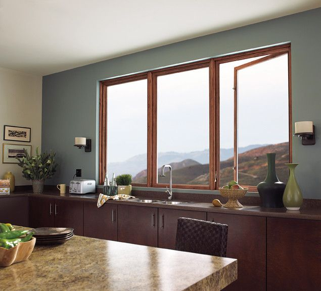 Clearview Window and Door Contemporary Kitchen with Windows