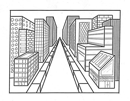 Perspective Drawings Of Buildings best 25+ how to draw perspective ideas only on pinterest