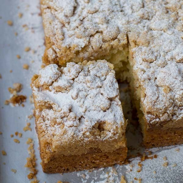 Carlos Bakery German Crumb Cake recipe with bun dough. Old fashioned New Jersey…