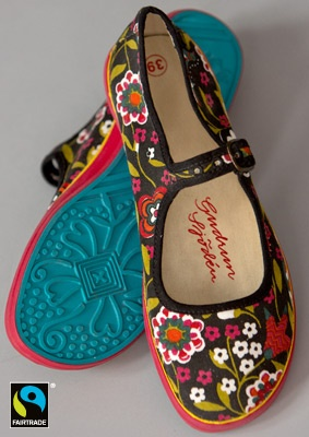 """Hedvig"" fabric shoes – Accessories – GUDRUN SJÖDÉN"
