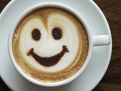 Such a happy coffee...