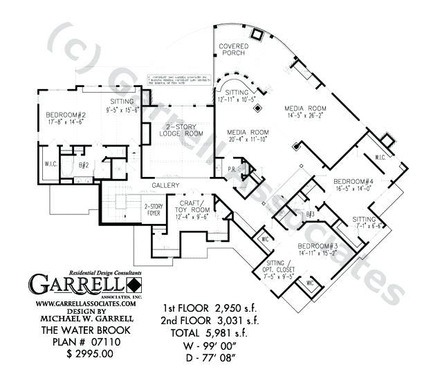 House Plans For Views To Rear Craftsman House Plans Rear View In 2020 House Plans Modern House Floor Plans Craftsman House Plans