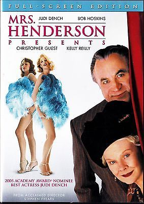 Mrs Henderson Presents  (DVD) Judi Dench, Bob Hoskins, Christopher Guest