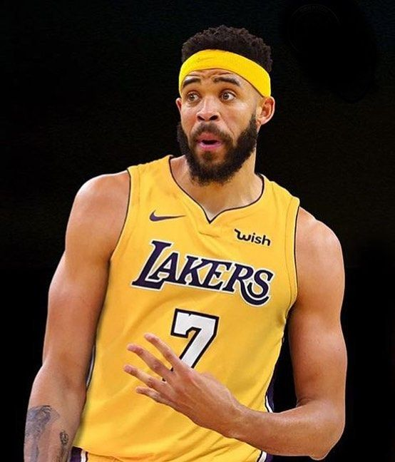buy online f6d87 f1a82 This'll be a fun team 🔥 Javale McGee on Laker   Basketball ...