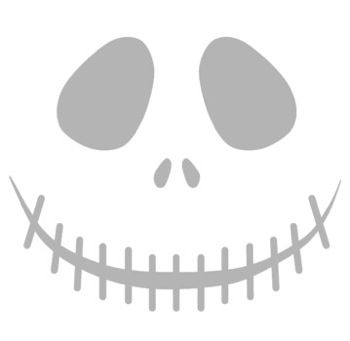 jack skellington face template - m s de 25 ideas incre bles sobre jack skellington pumpkin