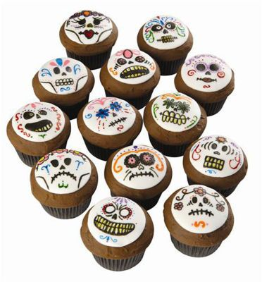 Wilton® Day of the Dead Cupcakes