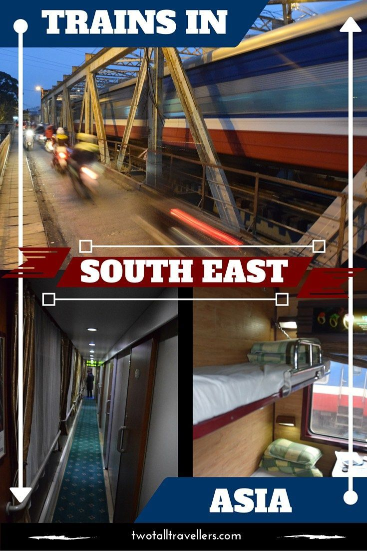 Read about our experience using sleeper trains in Southeast Asia!