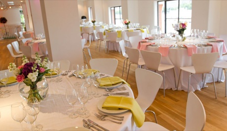 Oxo2, in Oxo Tower building. Licensed for wedding ceremonies.