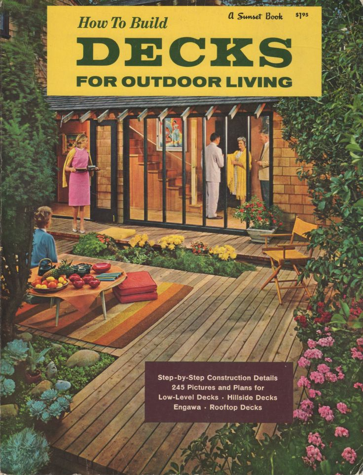17 best images about vintage sunset books on pinterest for Outdoor living magazine