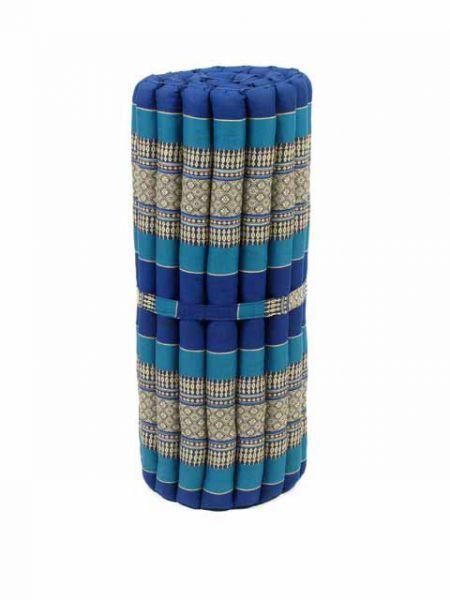 Colchoneta con relleno de kapoc natural y diseño étnico Thai. Plegable para ahorrar espacio utilizado para decorar,para, yoga, relax y como elemento decorativo. Medidas plegado 78x34x34 cm, Medidas desplegado: 170x78x3cm http://www.aleko.kingeshop.com/Colchoneta-Thai-Kapok-mediano-dbaaaahZa.asp