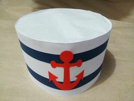 diy party sailor hat