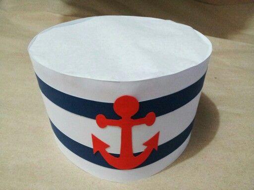DIY party sailor hat | Crazy felt hats | Pinterest | Hats ...