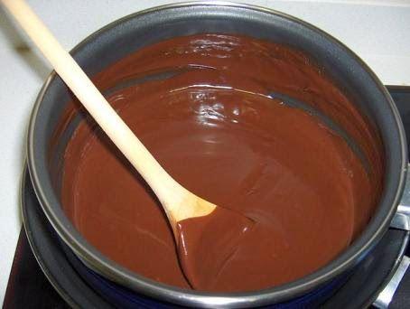 Tortas faciles y caseras: Baño de chocolate para tortas facil y economico