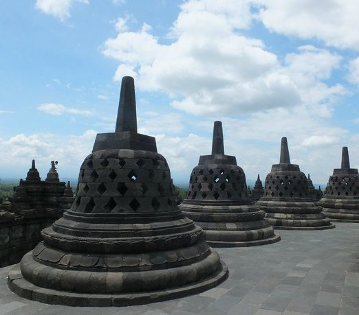 Borobudur Temple: According to the 2014 Travelers' Choice awards, the 8th century Borobudur Temple in Magelang, Centra...